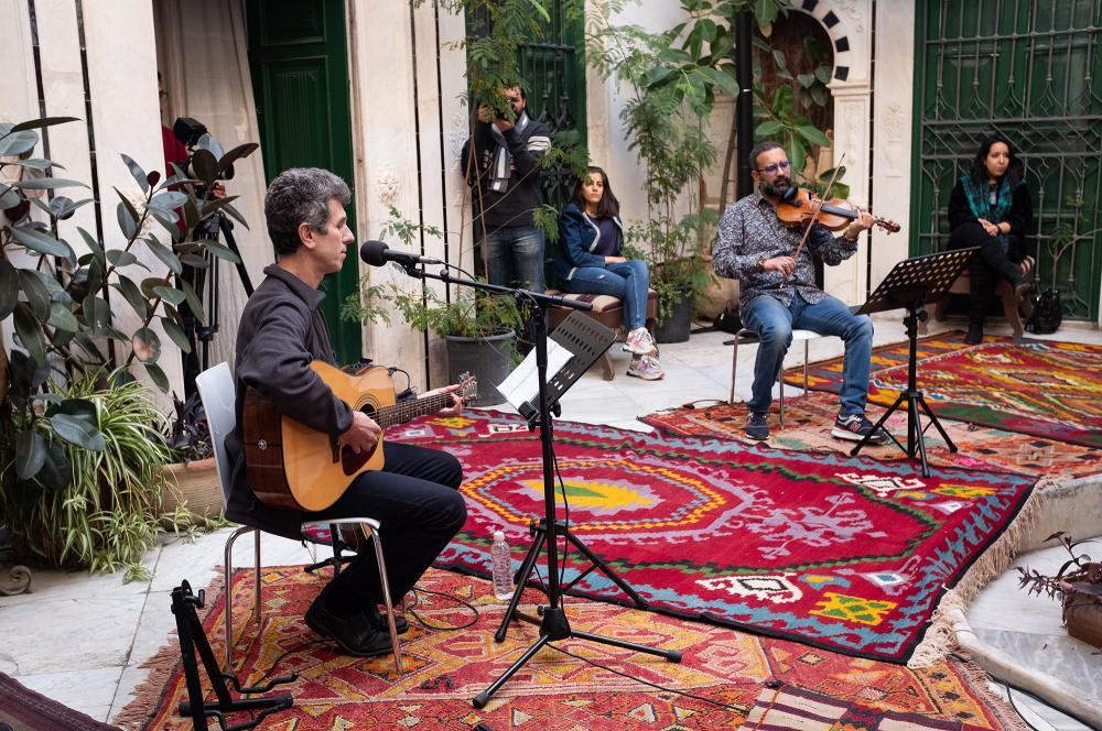 "Résidence ""Rébétiko-Maalouf"" de Nidhal Yahyaoui"