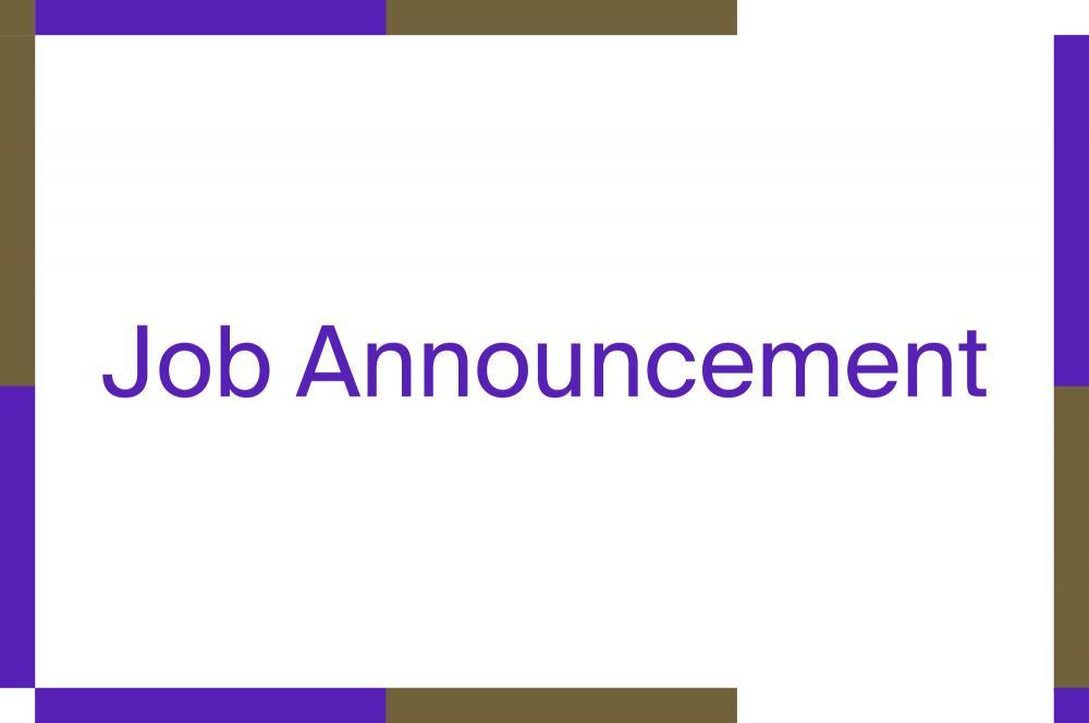 Recrutement Assistant(e)/coordinateur(trice) de projet, All Around Culture, septembre 2021.