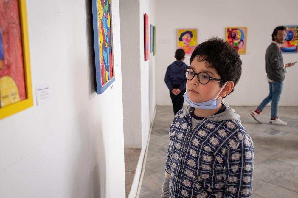 """Exposition """"L'Histoire en couleurs"""", avril 2021"""